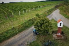Cyklobobule 2019 - Vyhlídka z Rozhledny Kraví hora