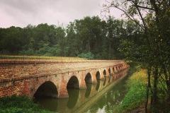 Cyklobobule 2020 - Mikulov - historický cihlový most z roku 1629